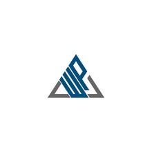 Letter AWP, APW, WPA, WAP, PAW, PWA, WP, PW Logo