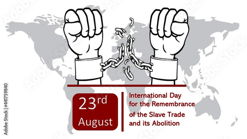 Photo International Day for the Remembrance of the Slave Trade & its Abolition