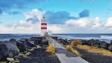 Lighthouse In Iceland