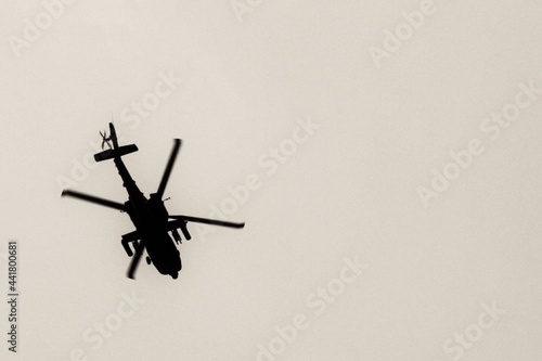 Sky Chopper Fotobehang
