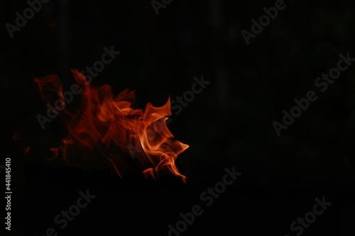 Fotografie, Obraz The fire
