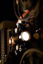 Studio Shot Of Old Projector