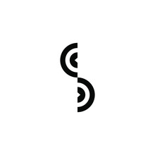 Abstract S Letter  Business Logo