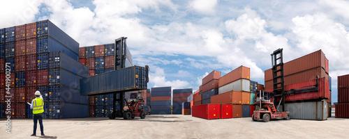 Fotografia Logistic Concept