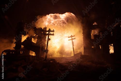 Fotografia Nuclear war concept