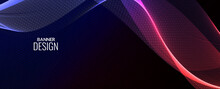 Abstract Background Modern Colorful Wave Banner Background Pattern