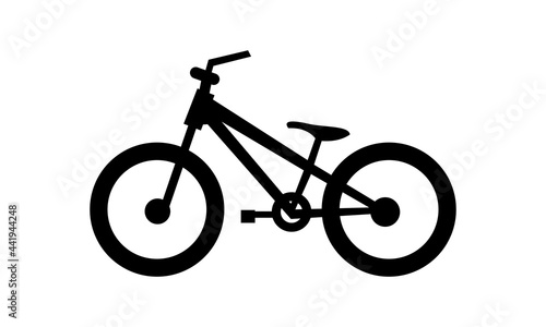 Obraz na plátne BMX bike vector