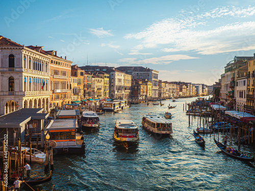 Fotografie, Obraz Street of Venezia