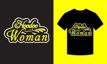 Shootout Woman T-shirt Design