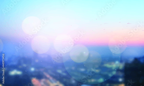 Fotografia abstract background with bokeh defocused lights