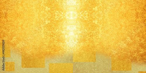 abstract orange background Fotobehang