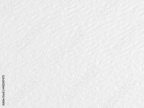 Fotografia, Obraz Abstract clean white texture wall 3d rendering
