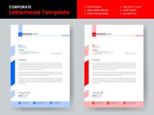 Corporate Letterhead Template Design Print Ready