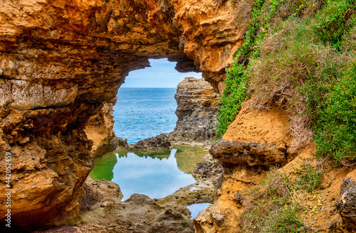 Wallpaper Mural The Grotto is a sinkhole geological formation and tourist attraction, found on t
