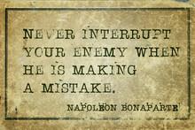 Interrupt Enemy Napoleon