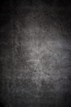 Texture Of Old Gray Concrete Wall .