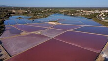 A View Of The Salt Marshes Of Mallorca In The Summertime - Ses Salines