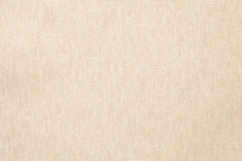 Beige Cotton Cloth Texture Texture Background. Close-up.