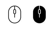 Mouse Icon Vector For Web, Computer And Mobile App