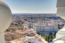Madrid Cityscape, HDR Image