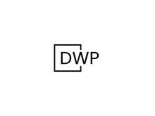 DWP Letter Initial Logo Design Vector Illustration