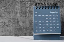 Mini Calendar December 2021.
