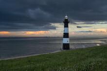 Lighthouse Niuwe Sluis In Zeeland