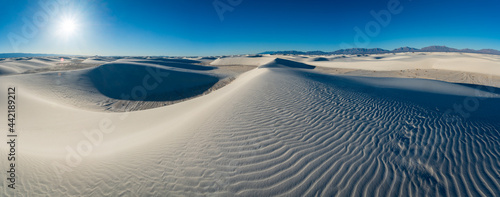 Canvas White Sands National Park in New Mexico