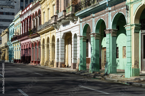 Fotografia Edificios antiguos de la Habana Vieja Cuba.
