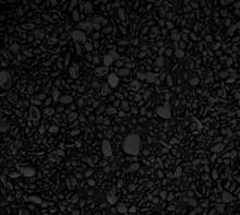 Textura De Piedras Negras