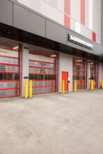 Storage Facility Exterior Loading Dock