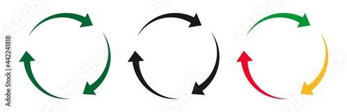Foto arrow rotation icon
