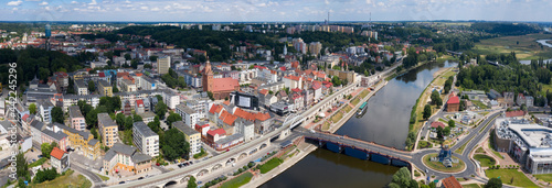 Fototapeta Panorama centrum miasta Gorzów Wielkopolski