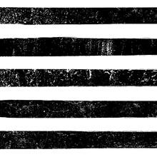 Grunge Black Pattern Line Seamless Rough Vector Paint Horizontal Art. Grunge Black Print Design