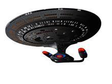 USS Enterprise D From Star Trek The Next Generation