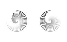 Circle Spiral Twirl Swirl Golden Ratio Icon