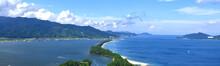 日本三景「天橋立」を展望台から見た