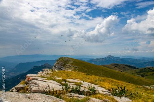 Canvas-taulu Crête de montagne