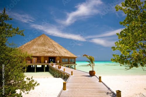 Obraz na plátně beach hut