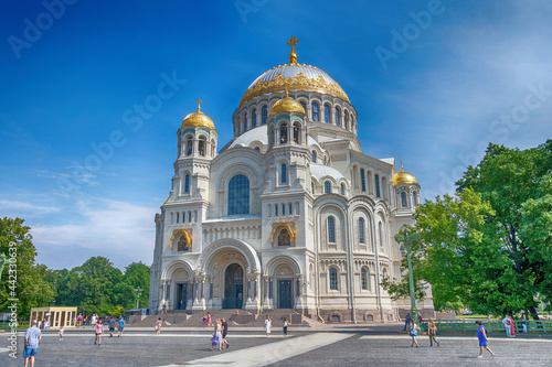 Naval Cathedral of St Fototapet