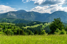 Mountains Chocske Vrchy In Slovakia