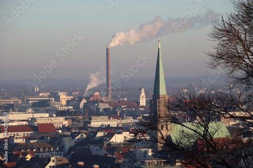 Billede på lærred Kulissen rund um Bielefeld