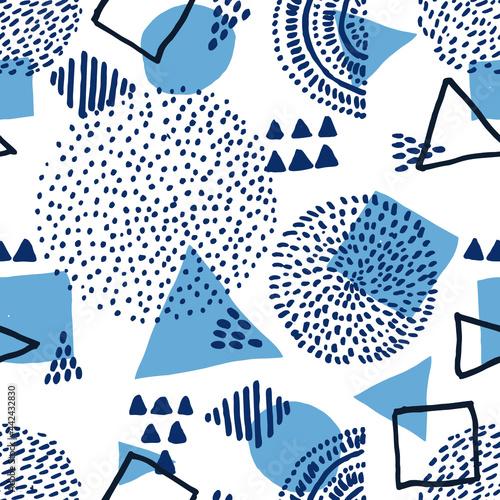 Tapety Etniczne  streszczenie-wektor-retro-wzor-w-geometrycznym-stylu-kolor-czarny-z-wektorami-geometrycznymi-wektor-tworza-trojkat-linie-okrag-hipster-wektor-moda-styl-memphis-wzor