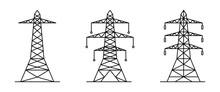Pylon Tower Vector Collection