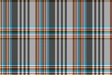 Fabric Repeatable Texture With Blue Yellow Purple Brown Stripes On Black White Background For Gingham, Plaid, Tablecloths, Shirts, Tartan, Clothes, Dresses, Bedding, Blankets, Costume