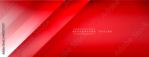 Tablou Canvas Dynamic lines abstract background