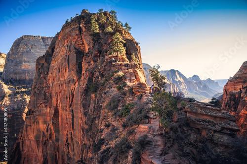 Fotografia Angels Landing Trail, Zion National Park, Utah
