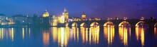 Charles Bridge In The Prague