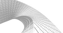 Abstract Architecture Arch 3d Illustration