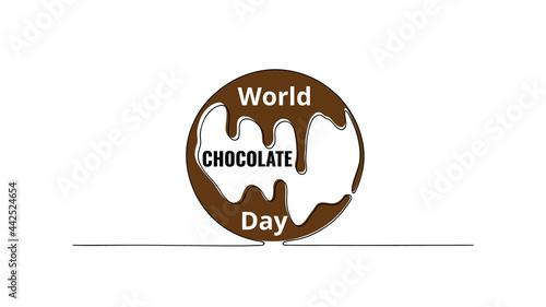 Foto World Chocolate Day July 7